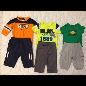 Lot of 5 Outfits-Mainly Carter's Brand